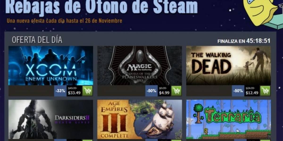 Arrancan las Rebajas de Otoño de Steam, conozcan los detalles
