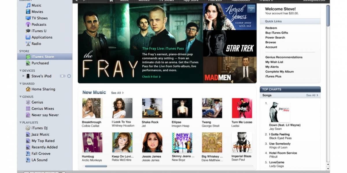 El nuevo iTunes 9