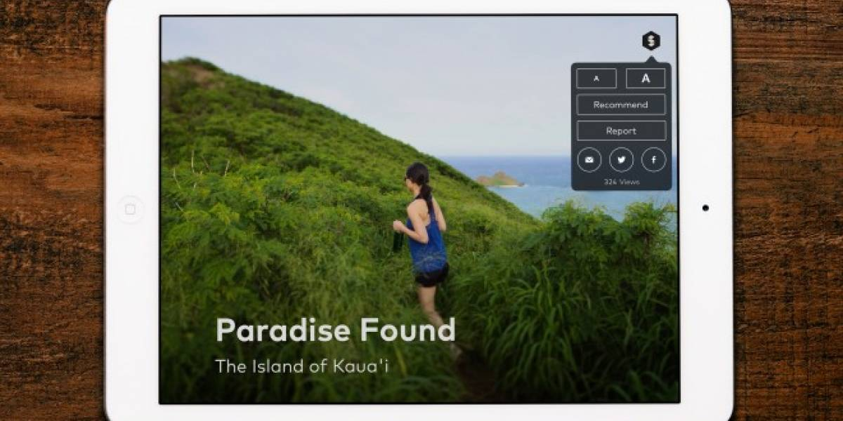 Storehouse para iPad permite crear bonitas historias visuales