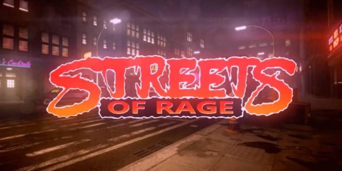Así luce el cancelado remake HD de Streets of Rage