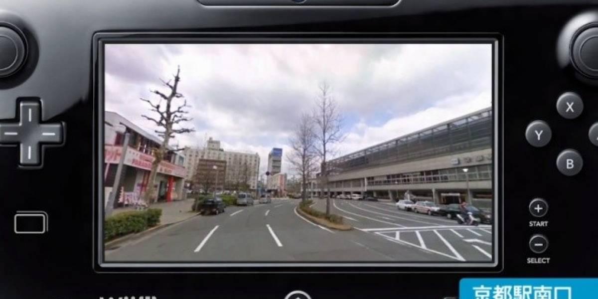 La Wii U también tendrá Google Maps