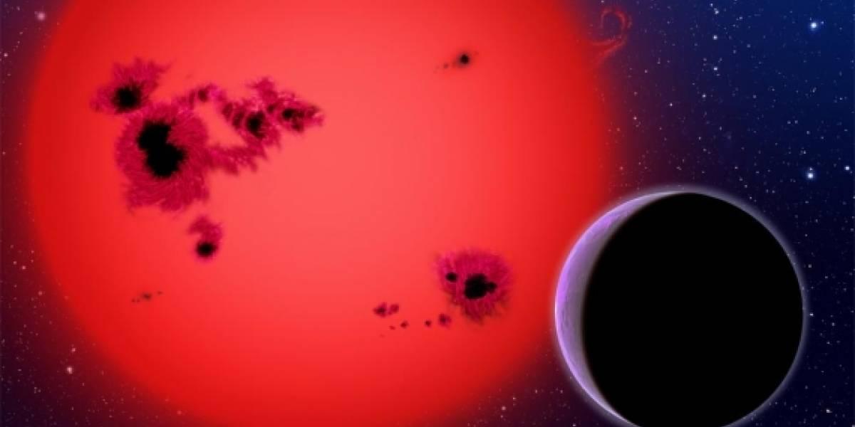 Descubren un exoplaneta cercano y rico en agua