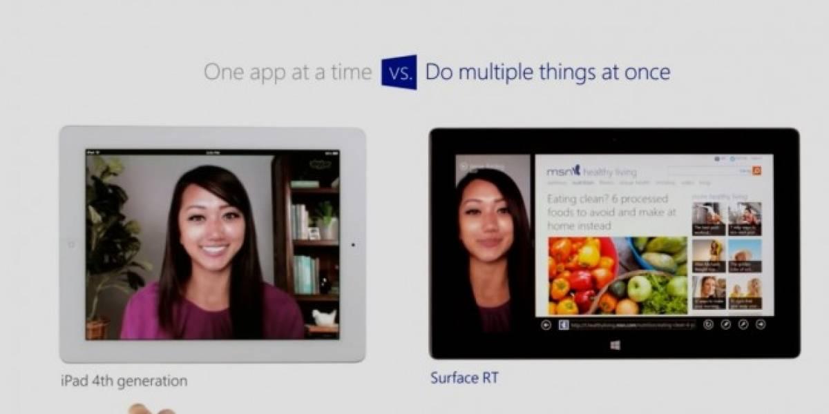 Nuevo comercial de Microsoft muestra como el Surface RT supera al iPad en todo