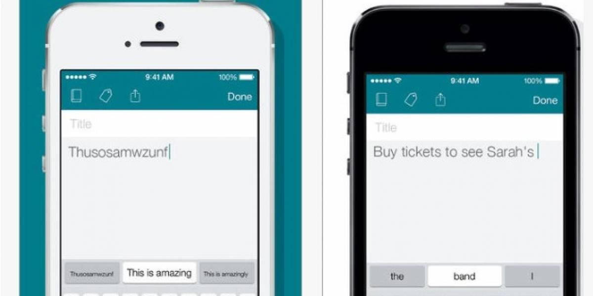 Swiftkey Note hace su arribo al iPhone con sincronización con Evernote