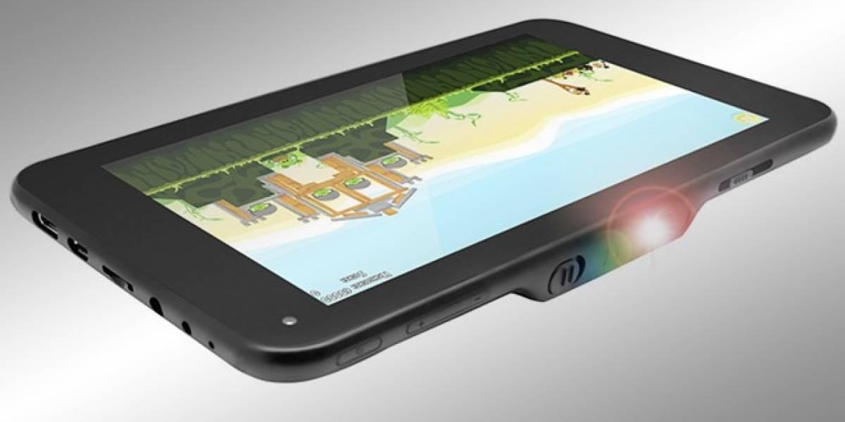 Lumitab, la primera tableta con proyector integrado