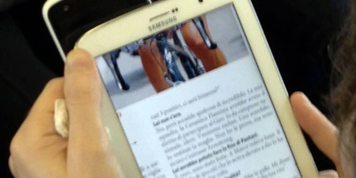 Filtran supuestas nuevas imágenes del Samsung Galaxy Note 8.0