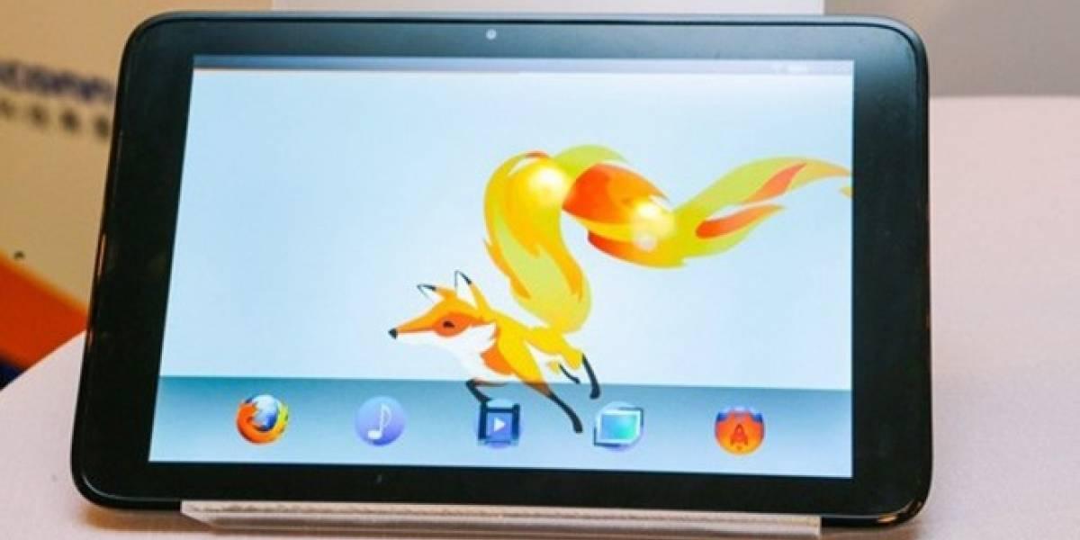 Revelan detalles del primer tablet con Firefox OS