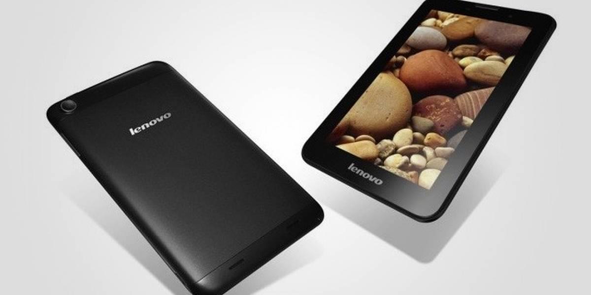 MWC13: Lenovo lanza tres nuevos tablets con Android
