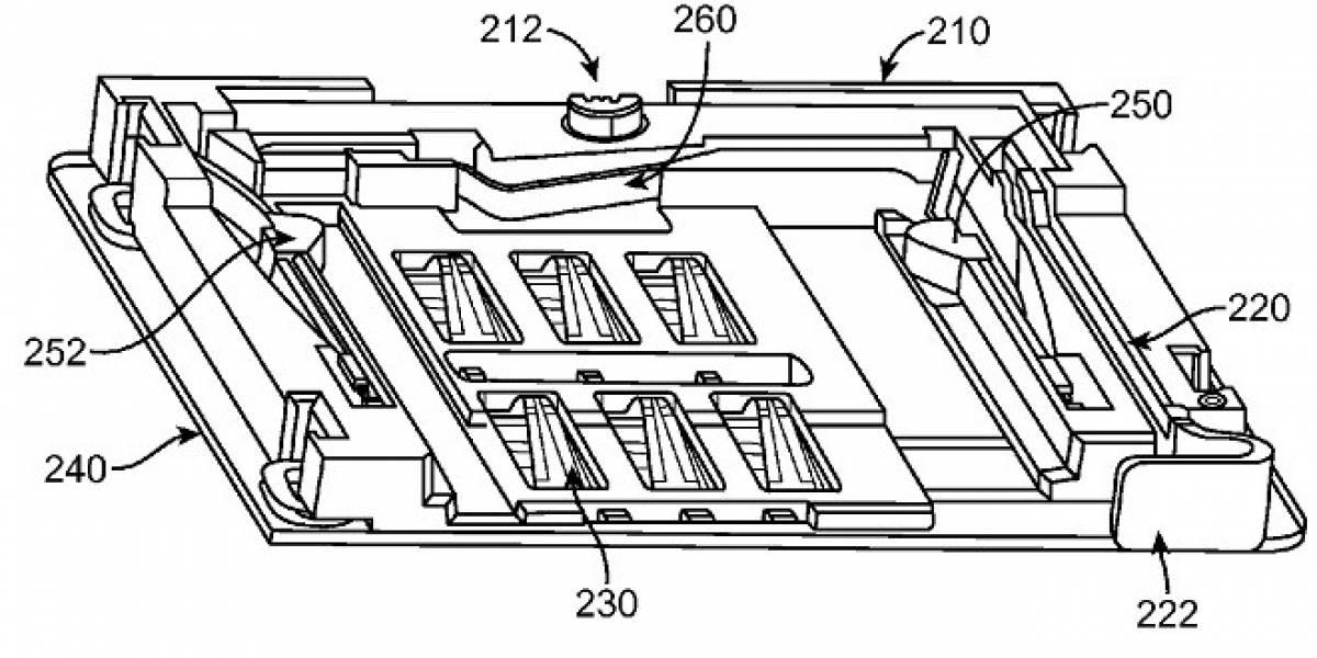 Le otorgan a Apple la patente de la bandeja deslizante para nano-SIM