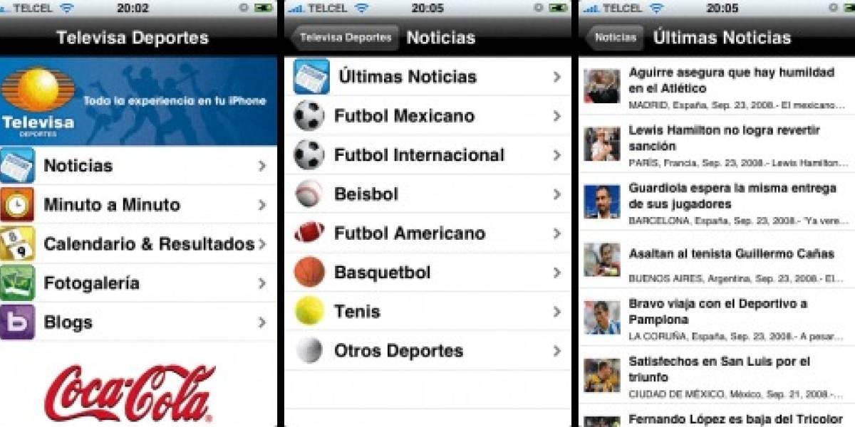 Televisa crea la primera aplicación mexicana para el iPhone