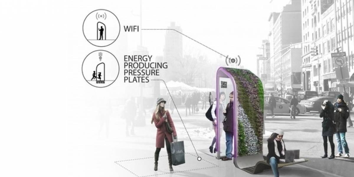 Los cinco posibles y futuristas teléfonos públicos de Nueva York