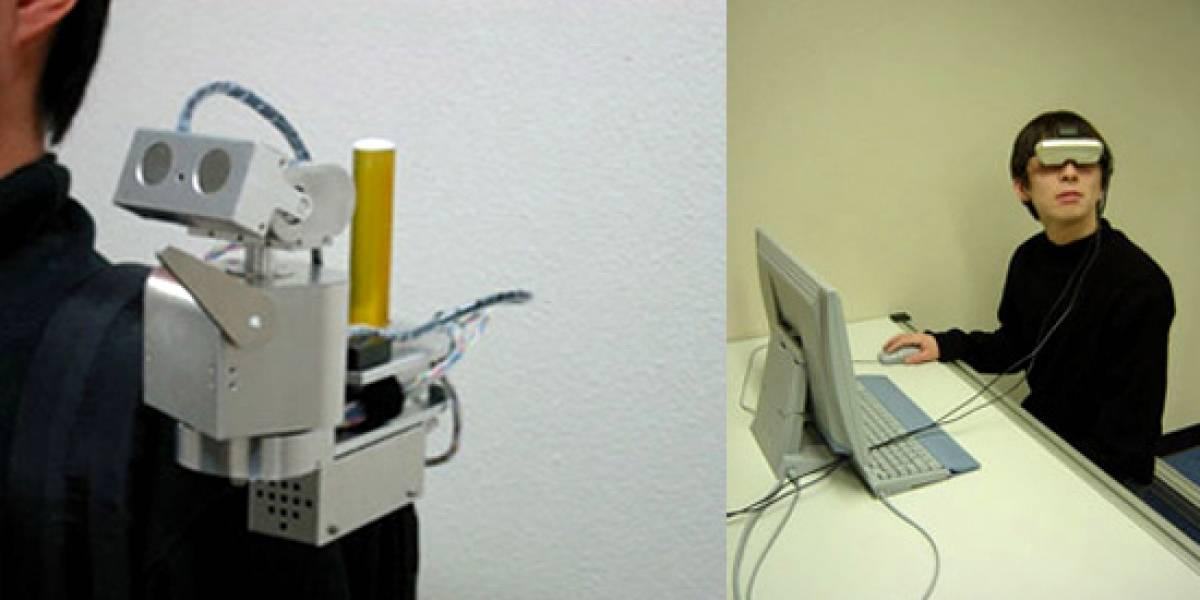 """Telecommunicator T1: Robot de telepresencia que permite """"llevar"""" a tus amigos en el hombro"""