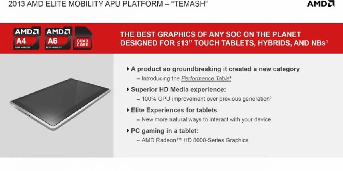 Temash: El nuevo SoC de bajo consumo de AMD