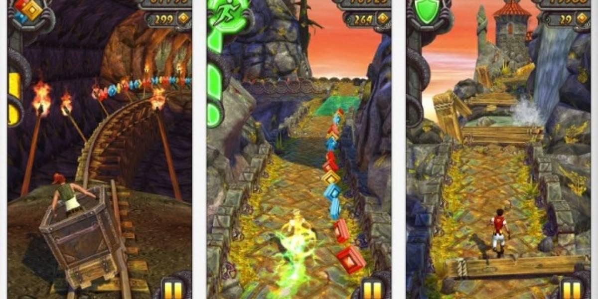 Temple Run 2 para iOS llega a las 20 millones de descargas en sólo 4 días