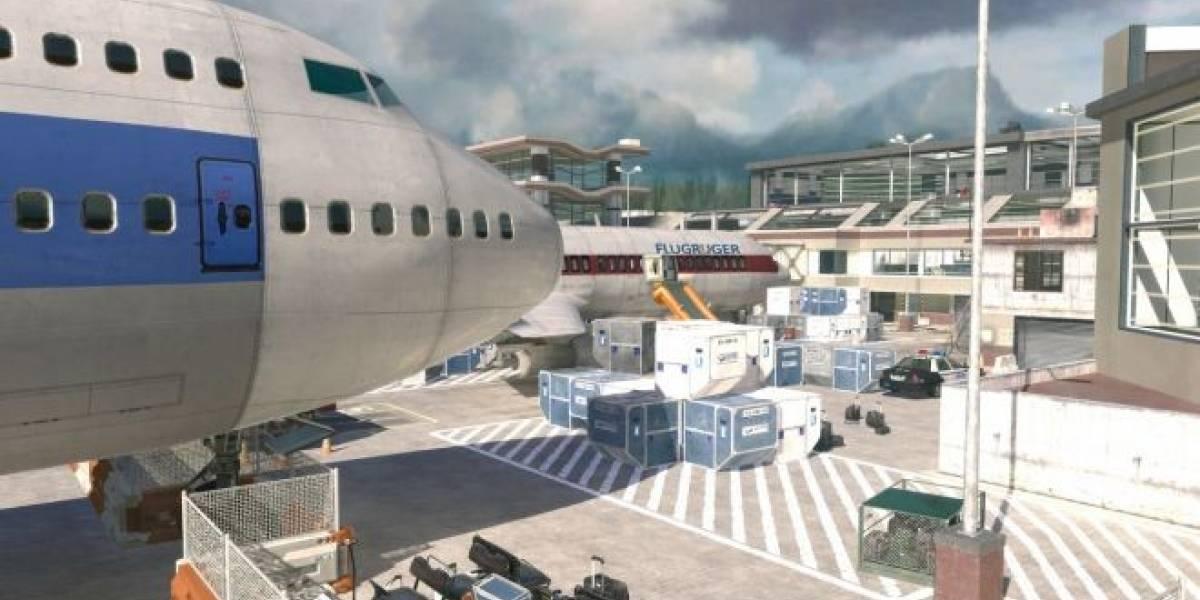 Terminal vuelve como mapa gratuito para Modern Warfare 3