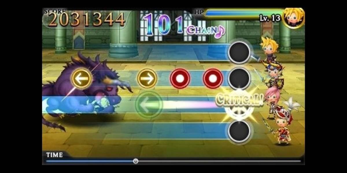 E3 2012: Theatrhythm Final Fantasy se presume con un largo trailer