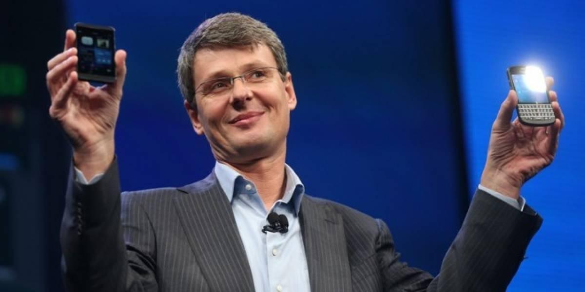 Con una carta, el ex CEO de BlackBerry Thorsten Heins dice adiós a la compañía