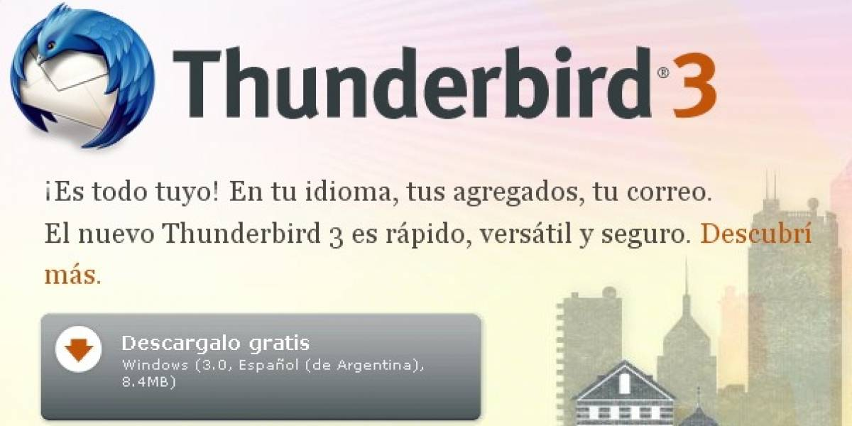 Thunderbird 3.0 disponible para descarga