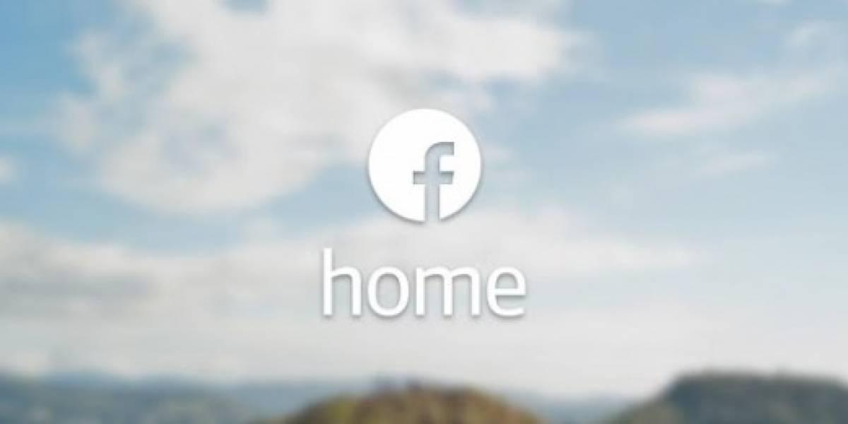 Facebook Home ya disponible para Android