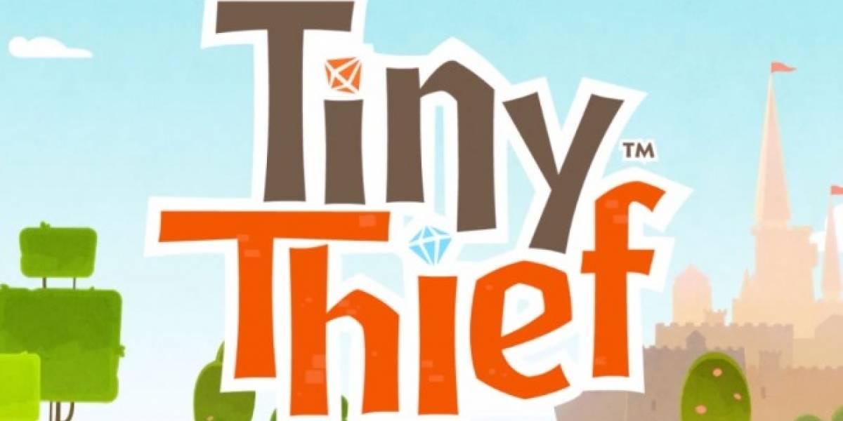 Tiny Thief, el nuevo juego de Rovio, será lanzado el 11 de Julio