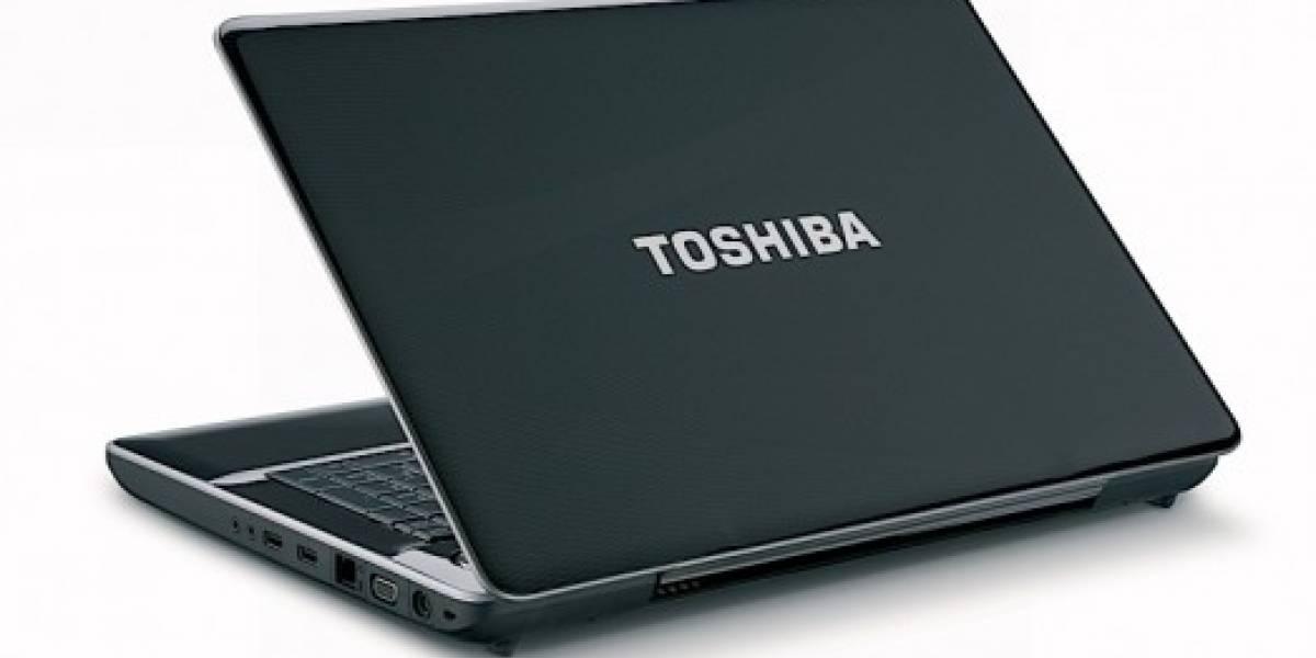 CES2010: Toshiba presenta nuevos notebooks basados en Core i3, i5 y i7