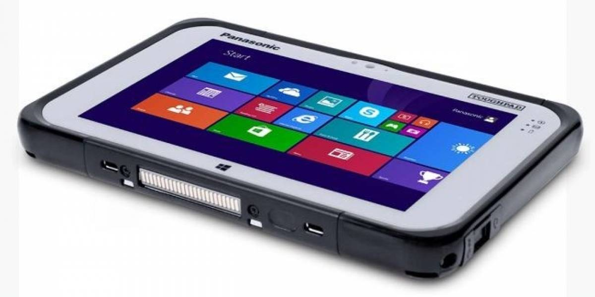 Panasonic presenta la Toughpad FZ-M1, Windows 8.1 en 7 pulgadas #CES2014