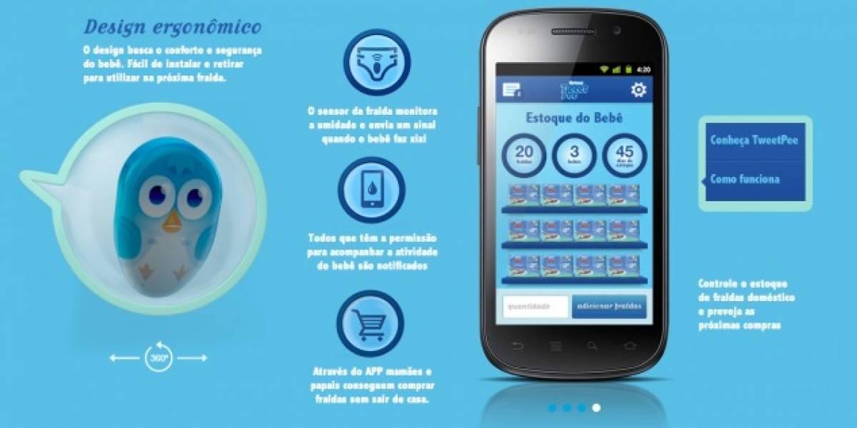 TweetPee, una app para saber cuándo hay que cambiar el pañal