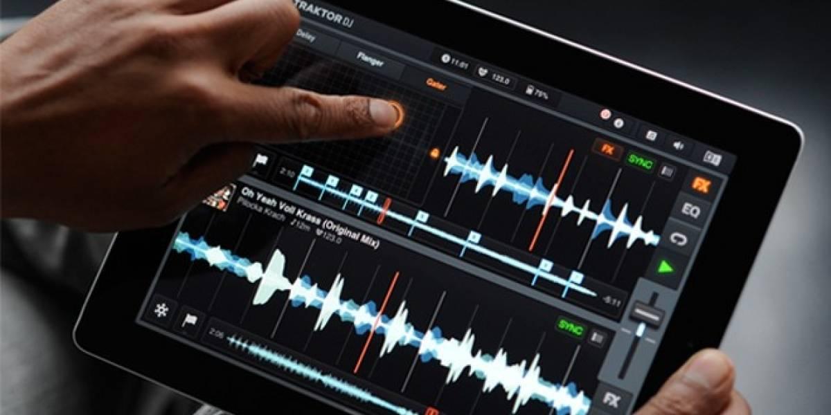 Aplicación para DJs Native Instruments Traktor llega al iPad