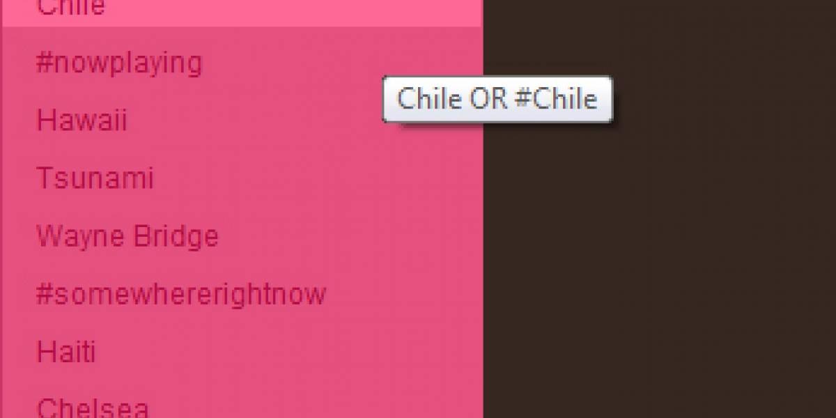 Twitter y el terremoto en Chile