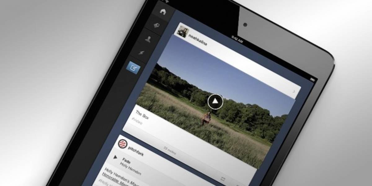 Tumblr lanza aplicación oficial para iPad