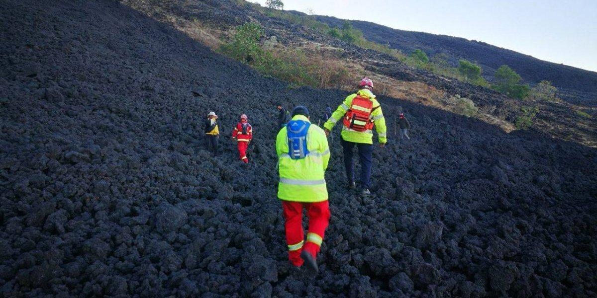 Rescatan a turistas extraviados en el volcán de Pacaya