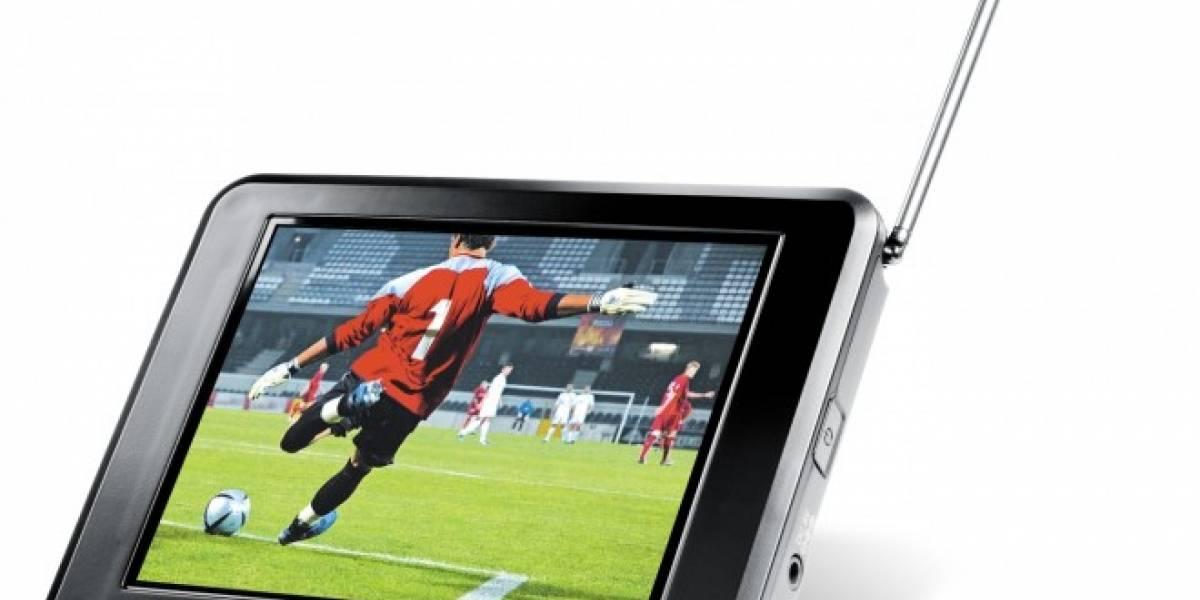 TPD 100: Televisor portátil para ver partidos mientras caminas