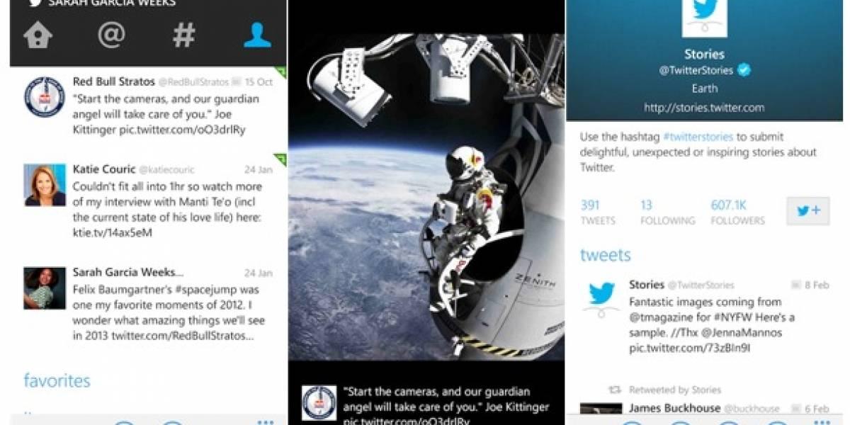 Twitter para Windows Phone se actualiza y trae consigo mensajes en la pantalla de bloqueo