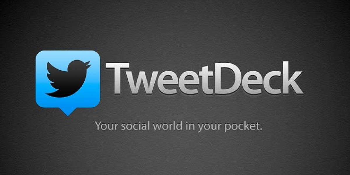 Twitter anuncia el fin de TweetDeck para iOS y Android