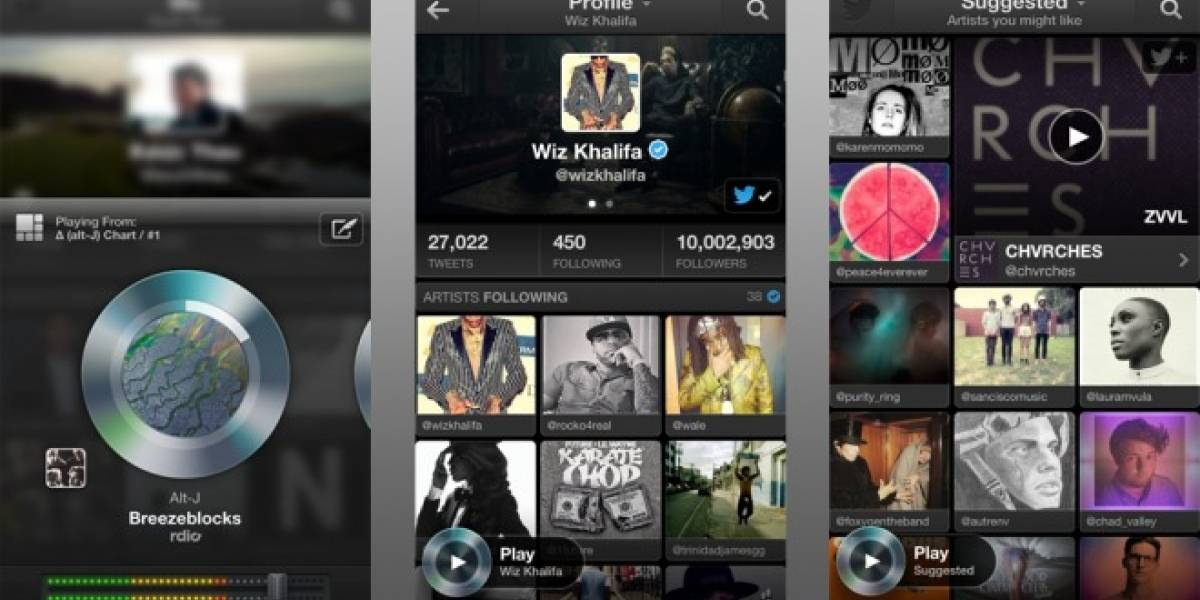 Twitter #Music estará disponible a partir de hoy para iOS y web