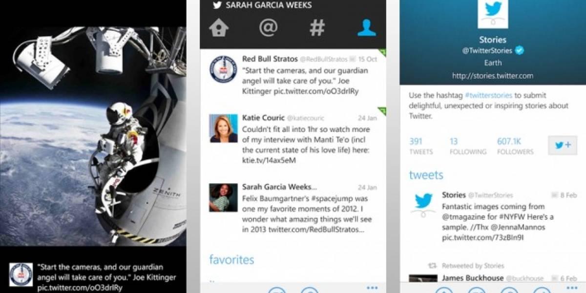 Actualización de Twitter para Windows Phone lleva a la plataforma los filtros de fotos
