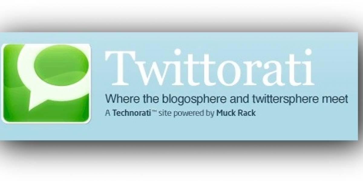 Twittorati: Twitter según Technorati