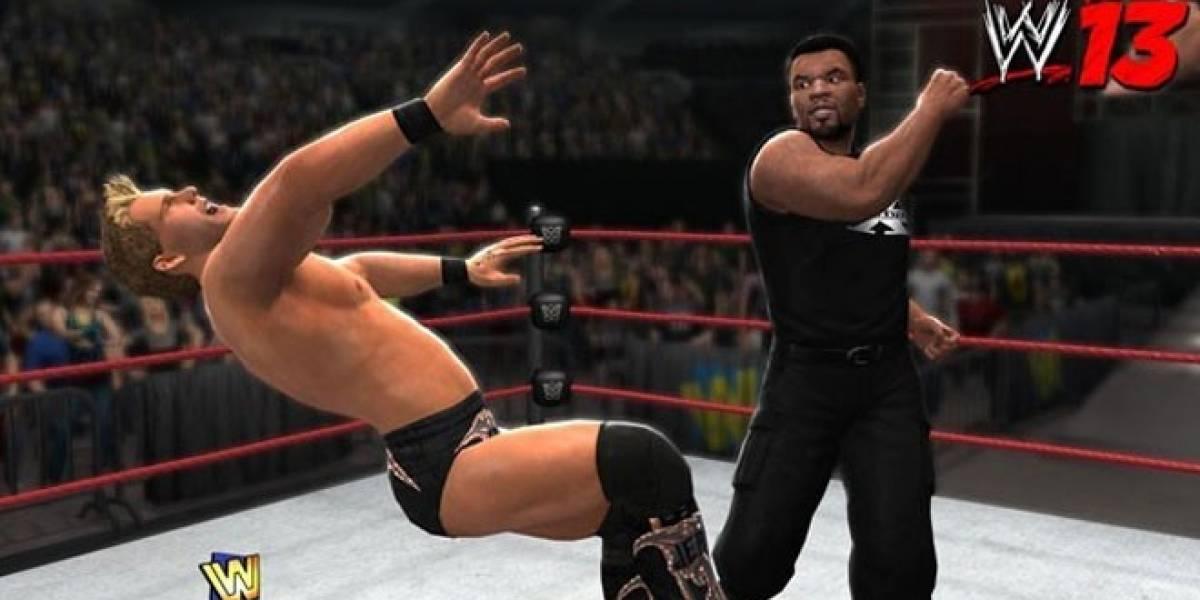 Mike Tyson será personaje jugable en WWE 13