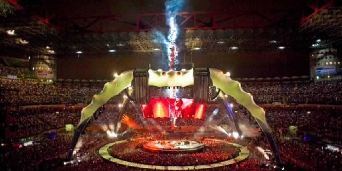 U2 y YouTube se unen para retransmitir en vivo recital de la gira 360º