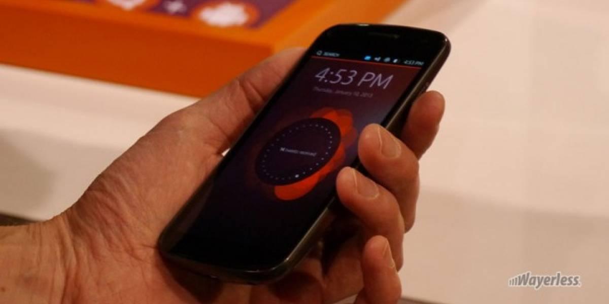 Los primeros smartphones con Ubuntu saldrán a la venta en octubre