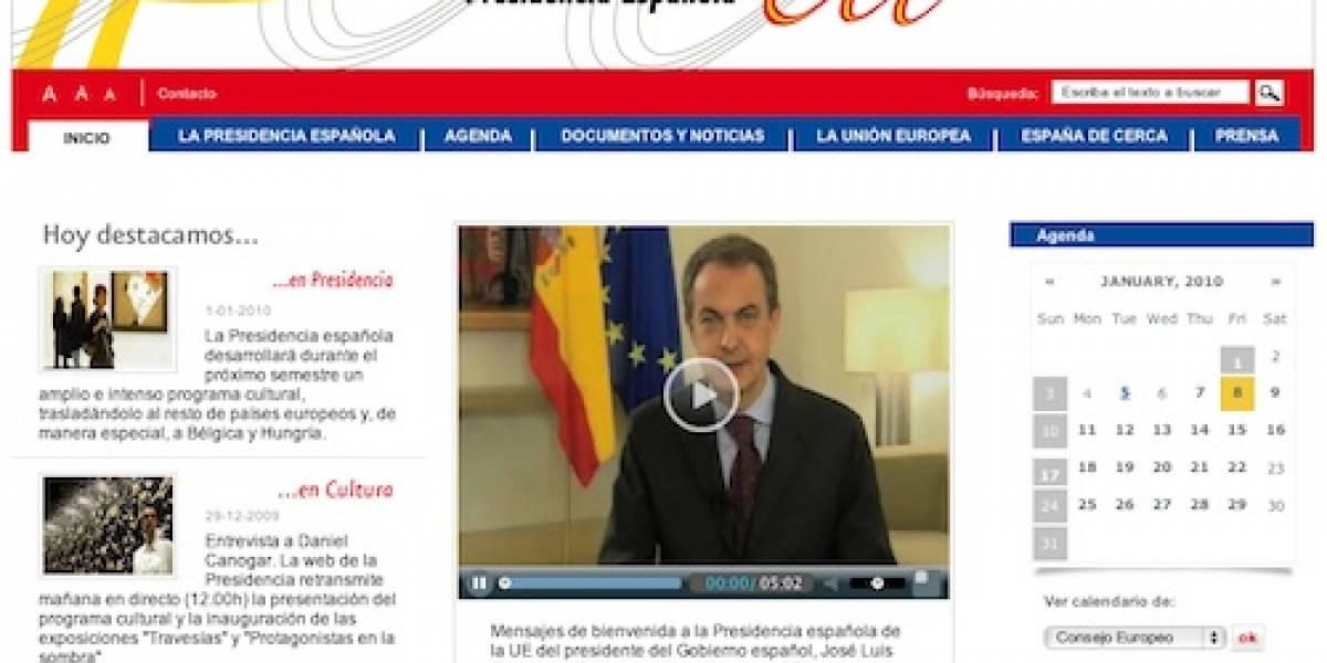 La web de la presidencia española en la UE no fue hackeada
