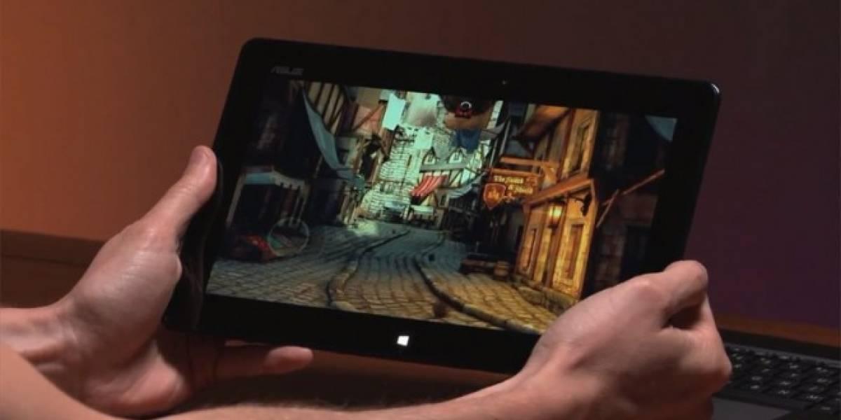 Unreal Engine 3 corriendo en una tablet con Windows 8/RT