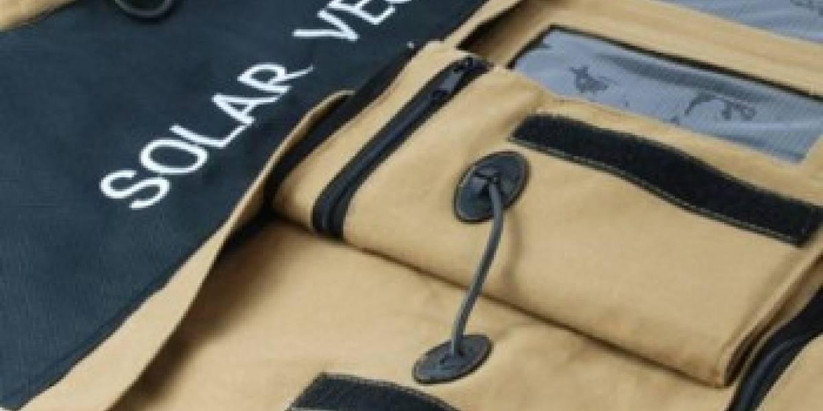 Nueva telas para ropa solar flexible y barata