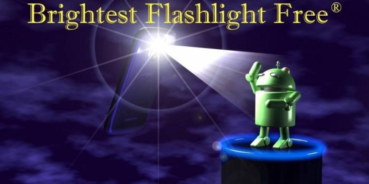 Aplicación de linterna enviaba información del usuario sin autorización