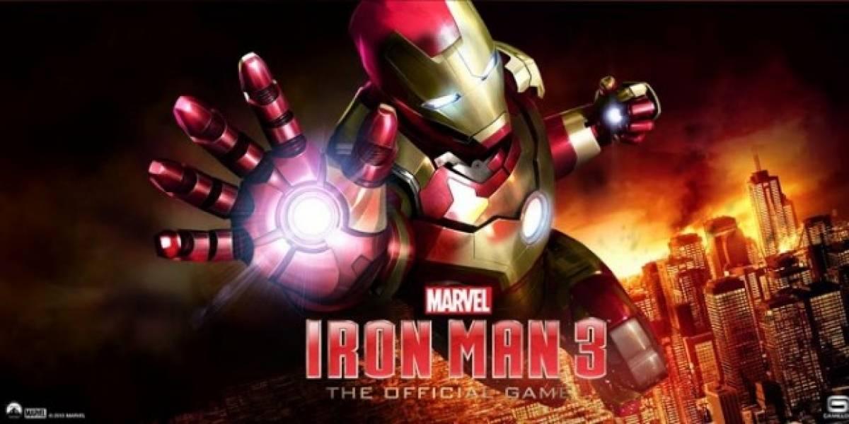 El juego de Iron Man 3, ya disponible para iPhone, iPad y Android