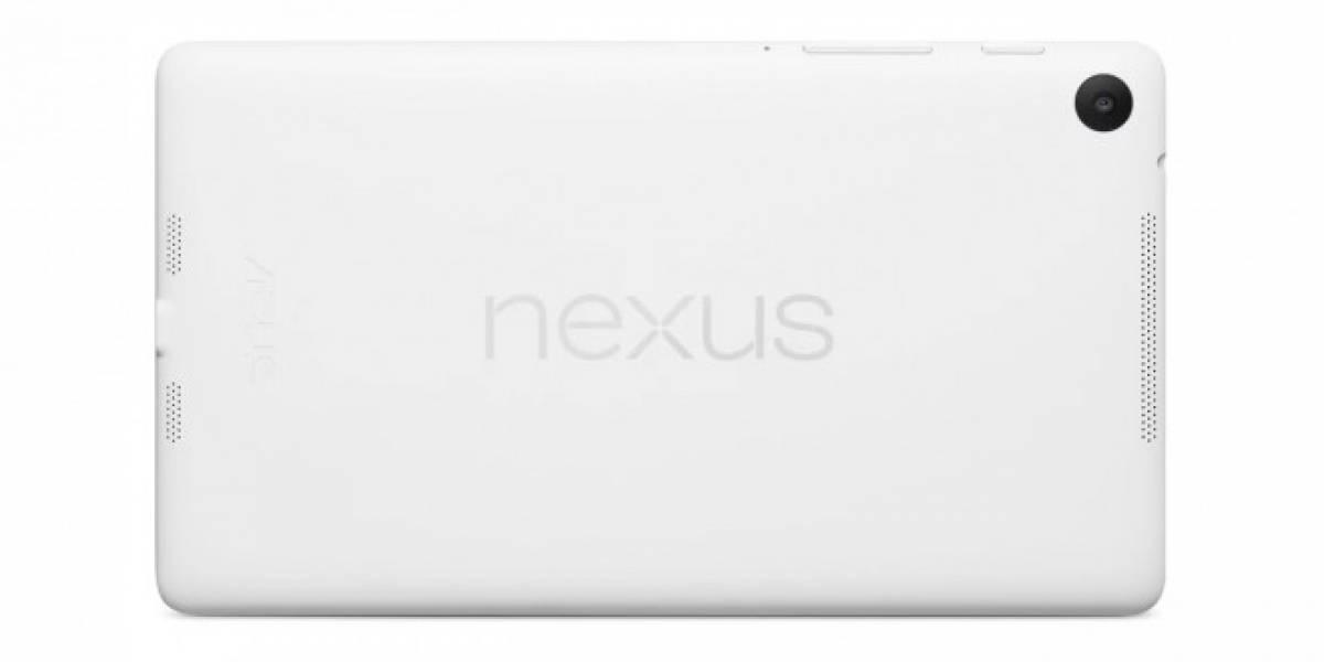 Google comienza a vender la Nexus 7 en color blanco