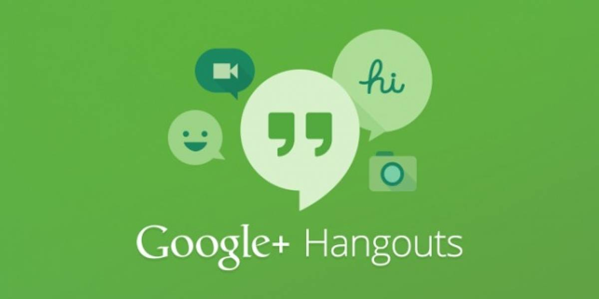Aplicación Hangouts ya disponible para iOS y Android