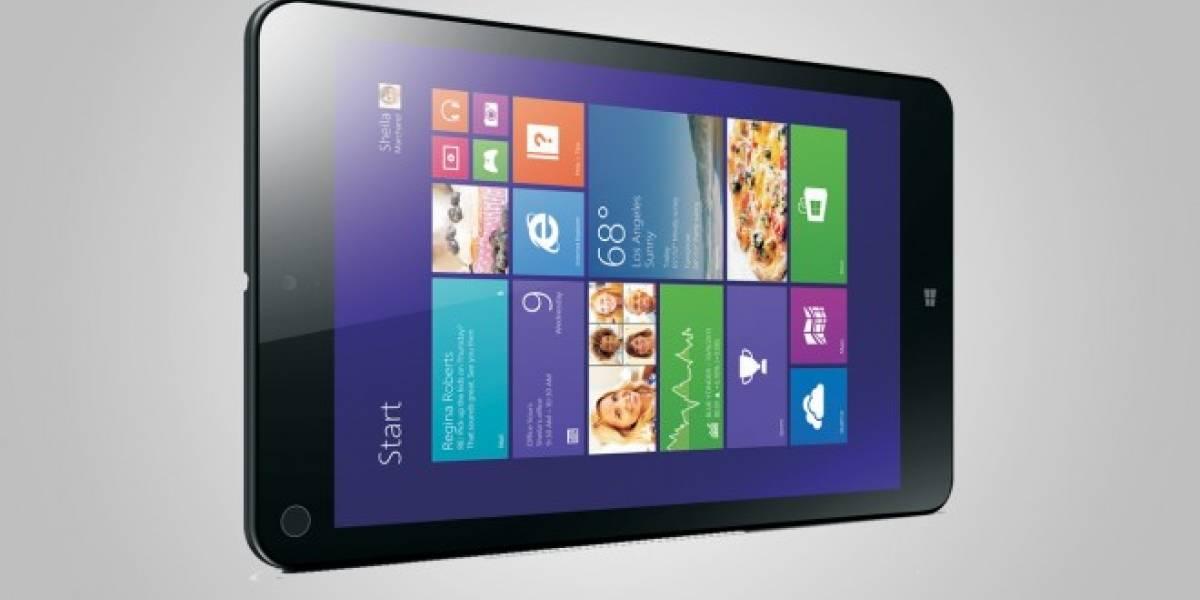 Lenovo presenta la Thinkpad 8 #CES2014