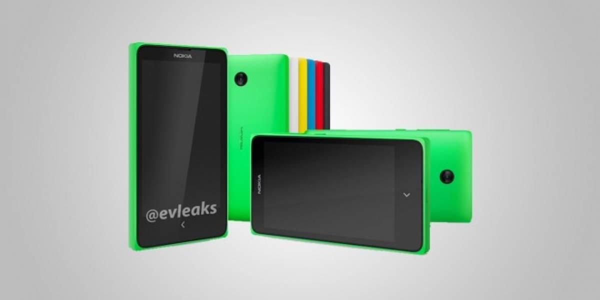 Interfaz Android del Nokia Normandy se filtra en una fotografía
