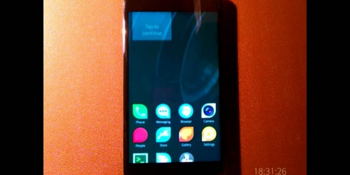 Sailfish OS corriendo en un Nexus 4